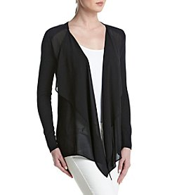 MICHAEL Michael Kors® Sheer Panel Cardigan