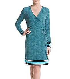 MICHAEL Michael Kors® Stingray Border Wrap Dress
