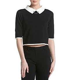 Ivanka Trump® Chained Collar Top