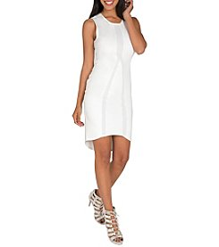 Standards & Practices Nathalie Zip Back Ponte Dress