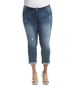Democracy Plus Size Absolution Crop Jeans