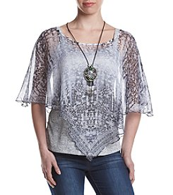 Oneworld® Popover Necklace Top