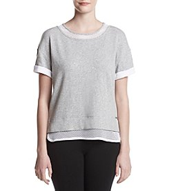 Marc New York Performance Mesh Trim Tee