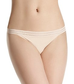 DKNY® Cotton Lace Thong