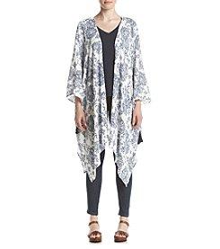 Eyeshadow® Paisley Floral Kimono