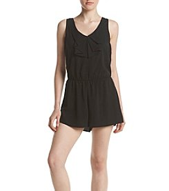Be Bop Bow Front Romper
