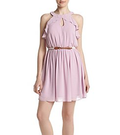 A. Byer Ruffled Dress