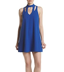 Swat Cut-Out Swing Dress
