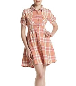 Hippie Laundry Plaid Dress