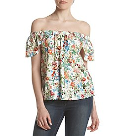 Hippie Laundry Floral Off-Shoulder Top