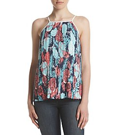 Hippie Laundry Tropical Pleated Tank