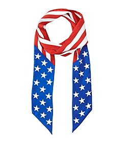 Collection 18 Americana Skinny Oblong Scarf