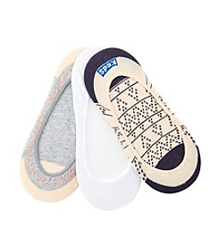 Keds® Border Dot Liner Socks