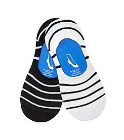 Keds® Stripe Sneaker Socks