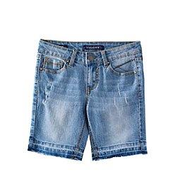 Vigoss® Girls' 7-16 Release Hem Bermuda Shorts