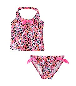 OshKosh B'Gosh® Girls' 2T-4T 2-Piece Animal Halter Tankini