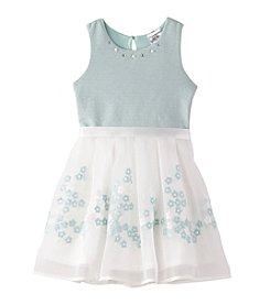 Beautees Girls' 4-6X Skater Dress