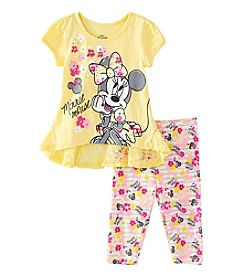 Disney® Girls' 4-6X Minnie High-Low Tunic With Leggings Set