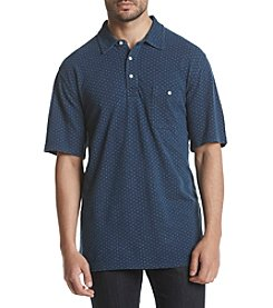 Weatherproof® Men's Indigo Polo