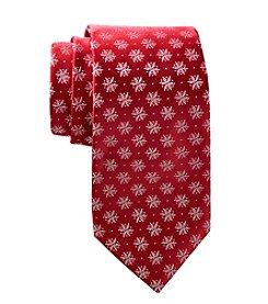 HO HO HO Lurex Snowflake Tie