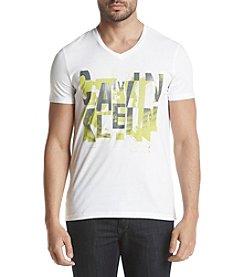 Calvin Klein Men's Solid Calvin Type Out