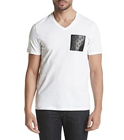 Calvin Klein Men's Top Door Graphics Moto Tee