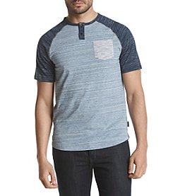 Ocean Current® Men's Kirby Fade Henley Raglan Knit Tee