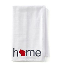 Home Sewn Badger Home Towel