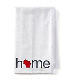 Home Sewn Badgers Home Towel