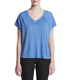Calvin Klein Performance Icy Wash Split Back Seamed Tee