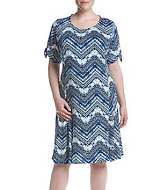 Studio Works® Plus Size Print Knit Dress