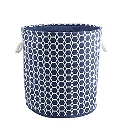Bintopia Round Hamper Tote with Rope Handles