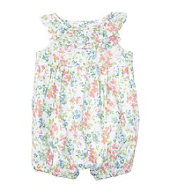 Ralph Lauren® Baby Floral Bubble Shortalls