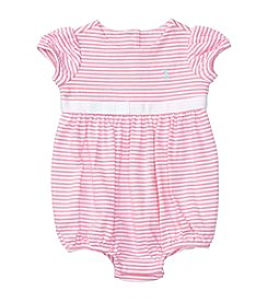 Ralph Lauren® Baby Girls' Bubble Romper