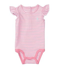 Lauren Ralph Lauren® Baby Striped 1-Piece Bodysuit