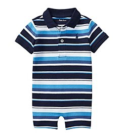 Lauren Ralph Lauren® Baby Boys Striped Shortalls