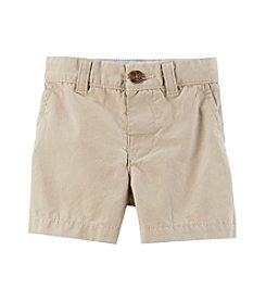 Carter's® Baby Flat Front Khaki Shorts