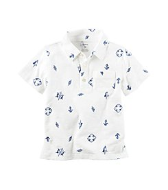 Carter's® Baby Boys Printed Polo Shirt
