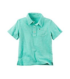 Carter's® Baby Boys Mesh Polo T-Shirt