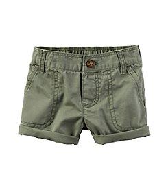 Carter's® Baby Girls' Roll Cuff Shorts