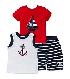 Little Me® Baby Boys 3-Piece Nautical Play Set