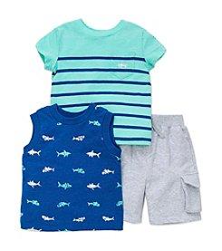 Little Me® Baby Boys 3-Piece Shark Play Set