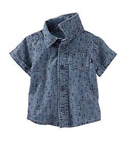 OshKosh B'Gosh® Baby Boys Anchor Print Shirt