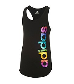 adidas® Girls' 2T-6X On The Run Tank Top