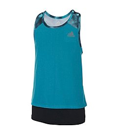 adidas® Girls' 7-16 Layer Up Tank Top