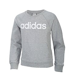 adidas® Girls' 7-16 Power Pullover Sweater