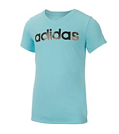adidas® Girls' 7-16 Basic Graphic Tee