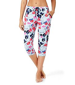 Layla® Floral Pajama Capri Pants