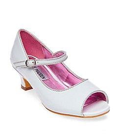 Steve Madden® Girls' Jbayylee Peep Toe Heels