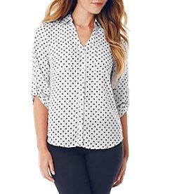 A. Byer Dot Utility Shirt